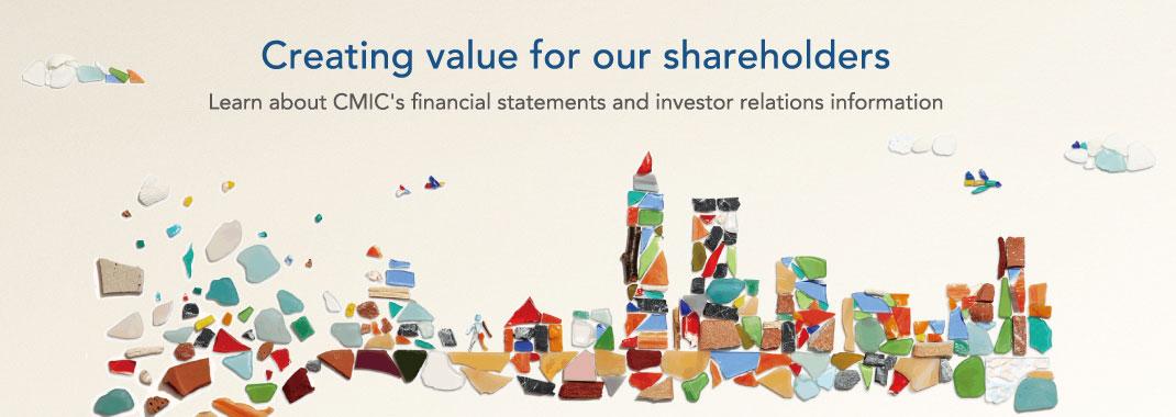 CMIC Investor Relations
